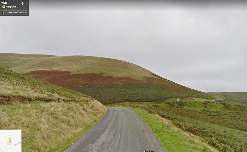 The Elan Valley. Image: Google Street View