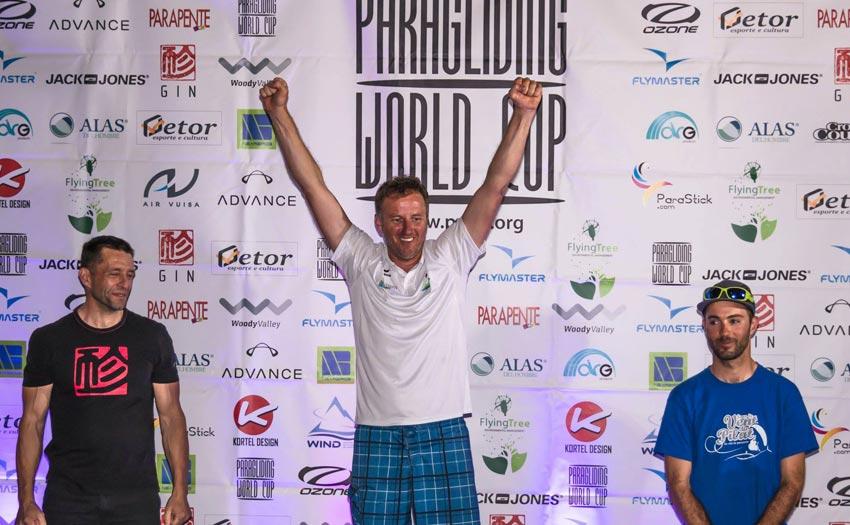 PWC Gemona 2018: overall podium