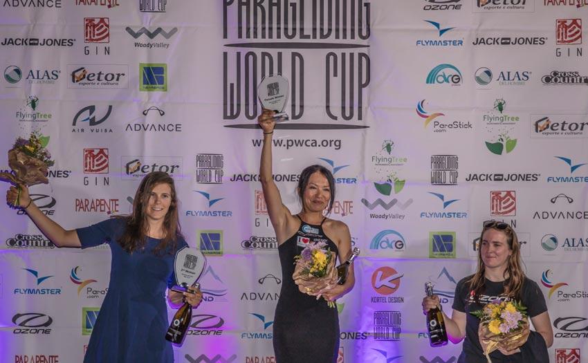 PWC Gemona 2018: women's podium