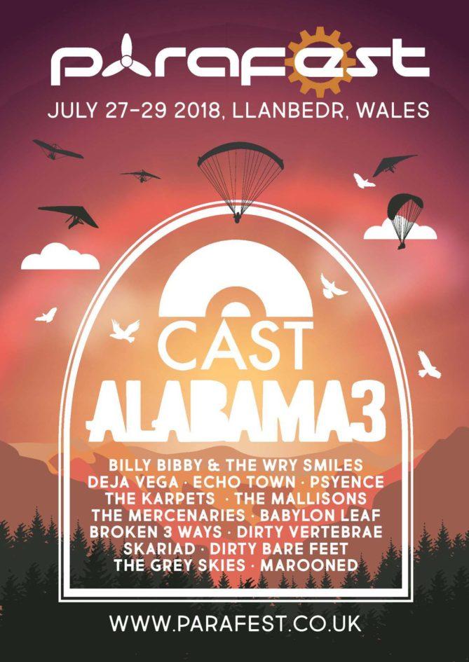 Parafest 2018 and Alabama 3