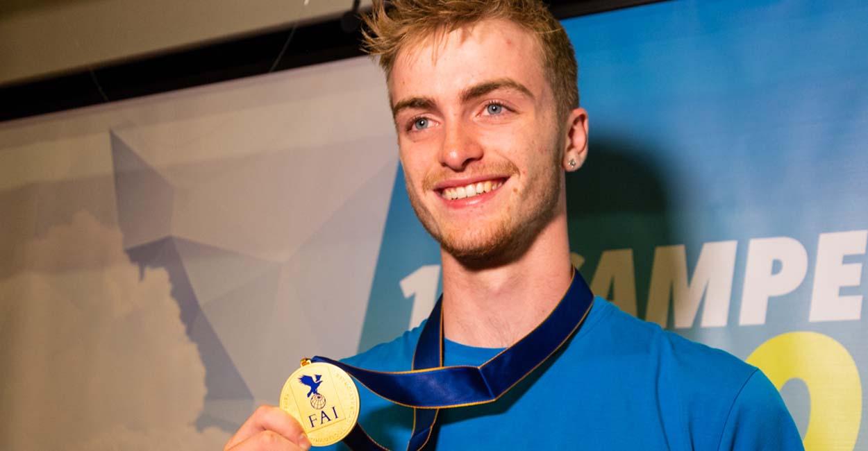 Theo Warden, European Paragliding Champion 2018