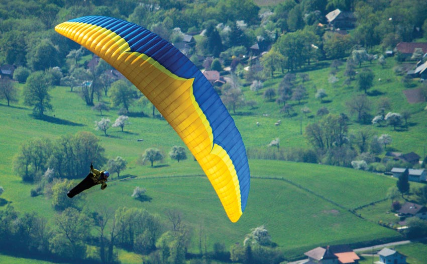 Rush 5 paraglider review