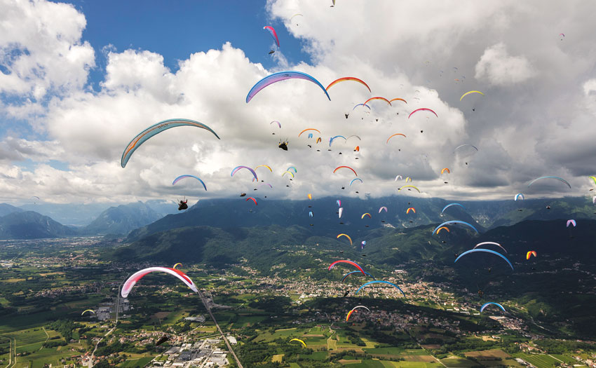 Paragliding World Cup. Photo: PWC