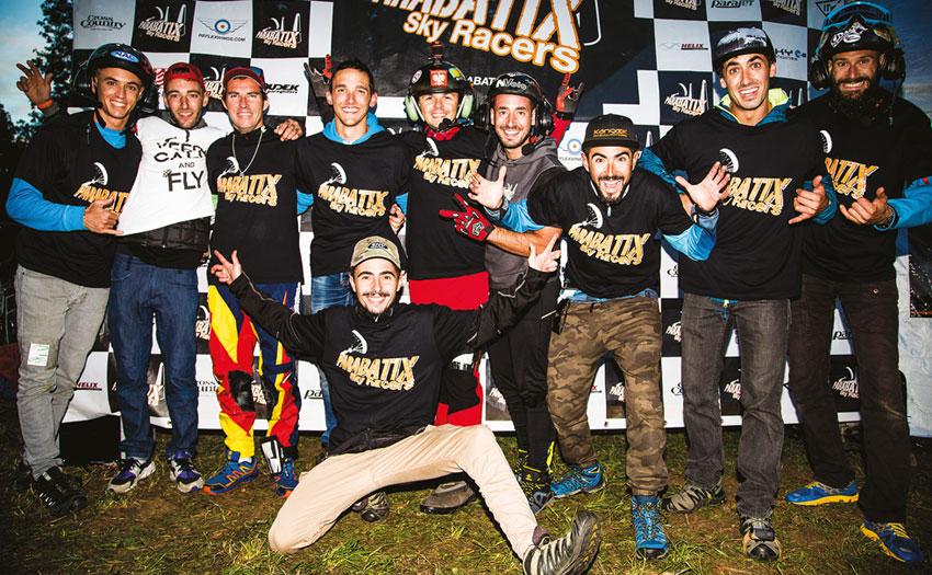 Parabatix Crew. Photo: Marcus King