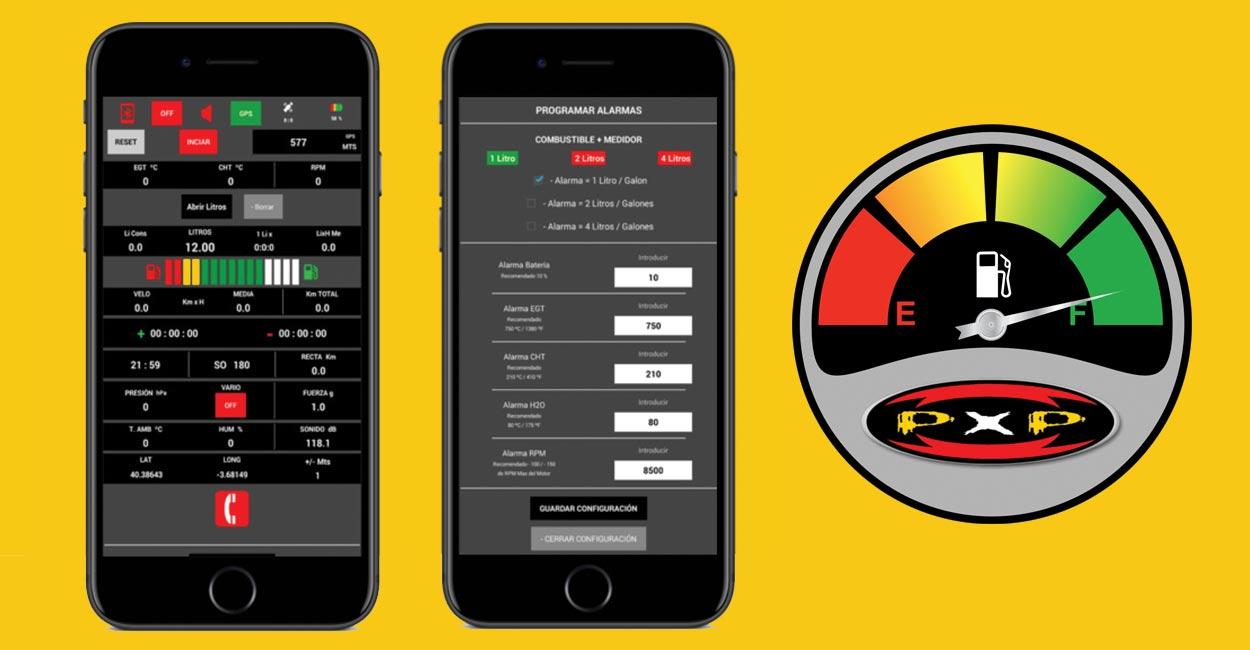PXP meter app