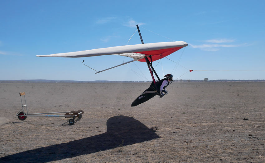 Hang gliding sport class in Australia, by Ollie Chitty