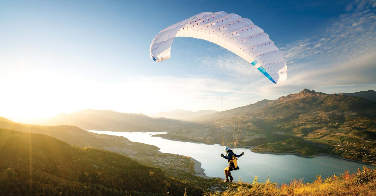 Dudek Run&Fly, World's lightest paraglider | Cross Country Magazine