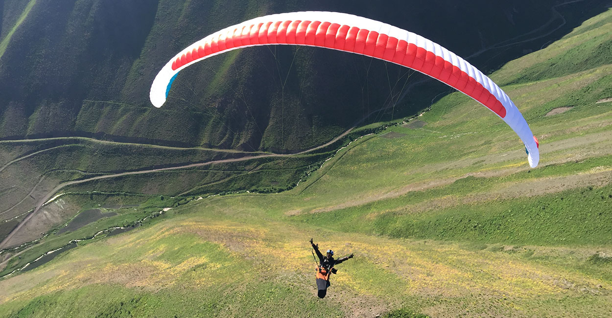 Paragliding in Tajikistan