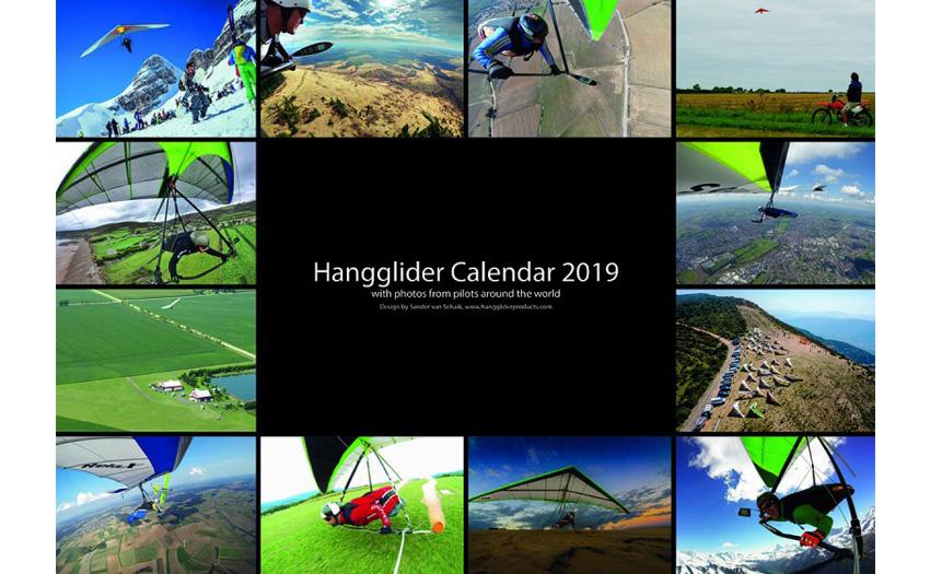 Hangglider Calendar 2019