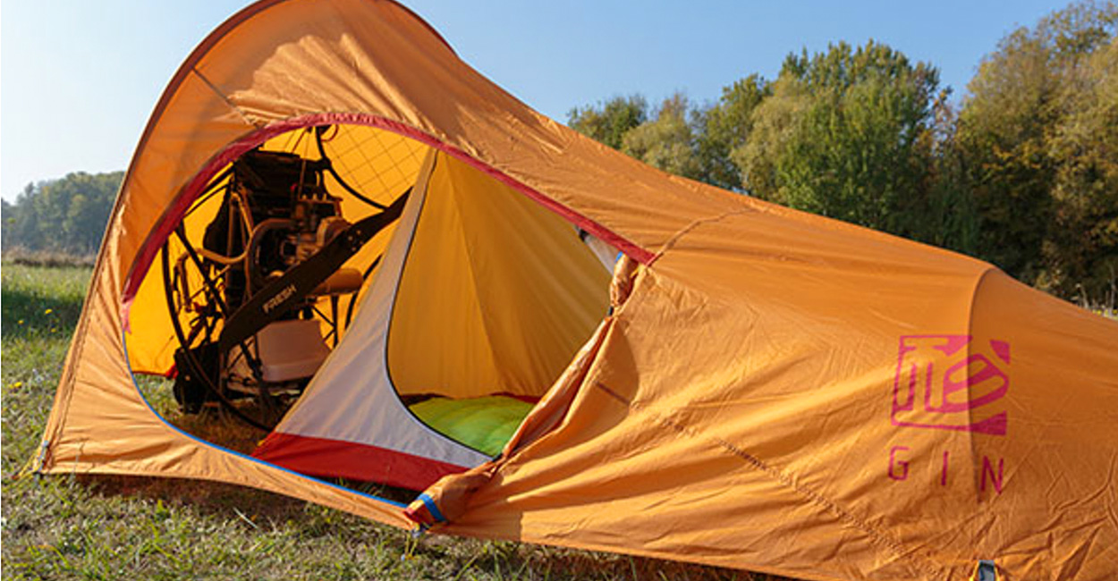 Gin lightweight PPG bivouac tent | Cross Country Magazine