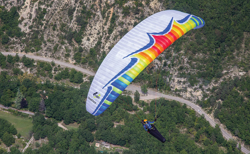 Paraglider review the U-Turn Crossrock