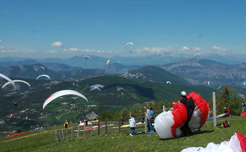 Ubaye paragliding Contest