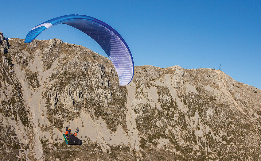 Supair Step paraglider review. Photo: Charlie King