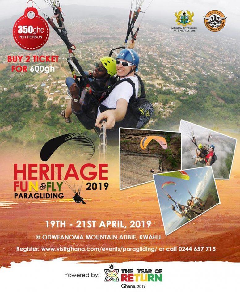 Ghana Paragliding Festival @ Eastern Region | Ghana