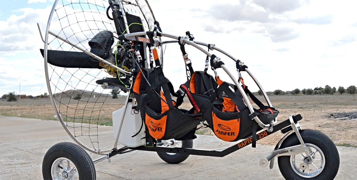 Airfer Raptor PPG trike | Cross Country Magazine – In the