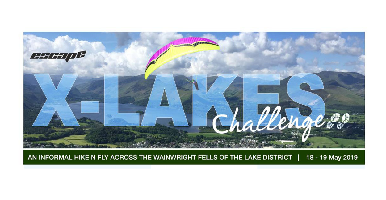 X-Lakes Challenge 2019 @ Escape Flight Park | Keswick | England | United Kingdom