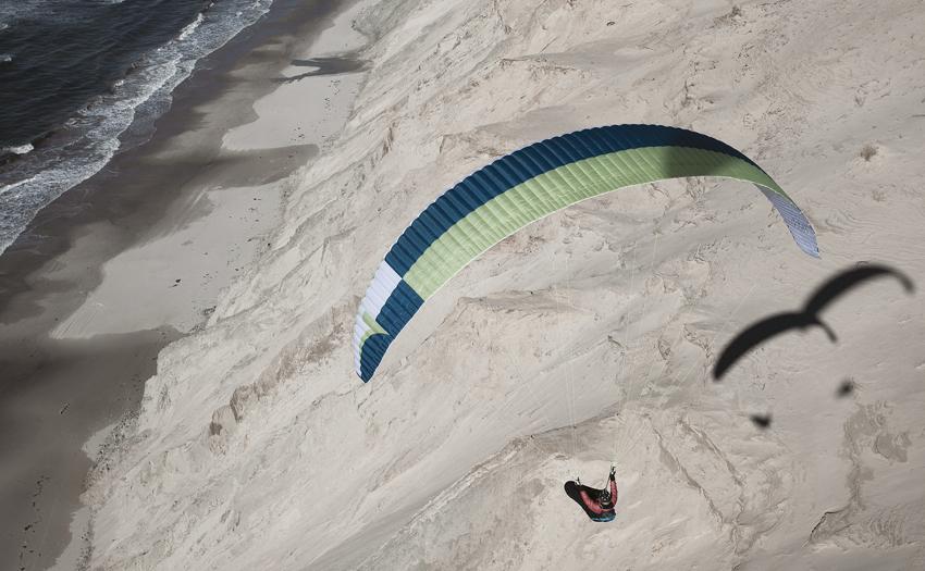 Dune flying in Denmark