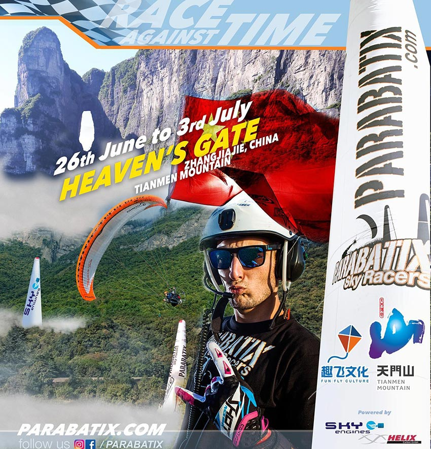 Parabatix Skyracers, China @ Zhangjiajie | Hunan | China