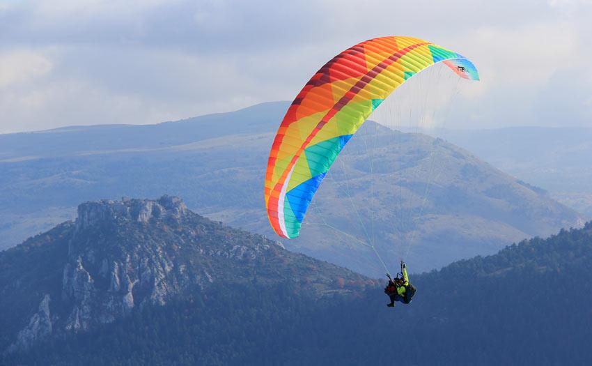 BGD dual tandem paraglider review