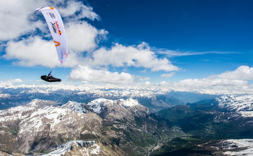 Red Bull X-Alps 2019 with Tarquin Cooper. Photo: Felix Woelk