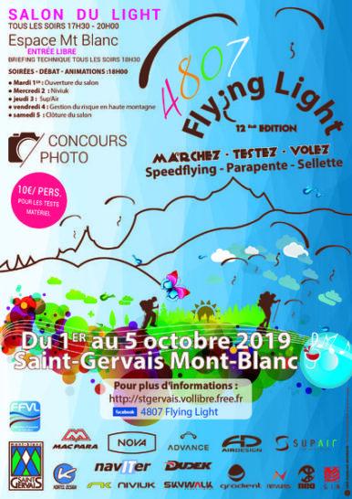 4807 Flying Light @ Saint-Gervais-les-Bains | Auvergne-Rhône-Alpes | France