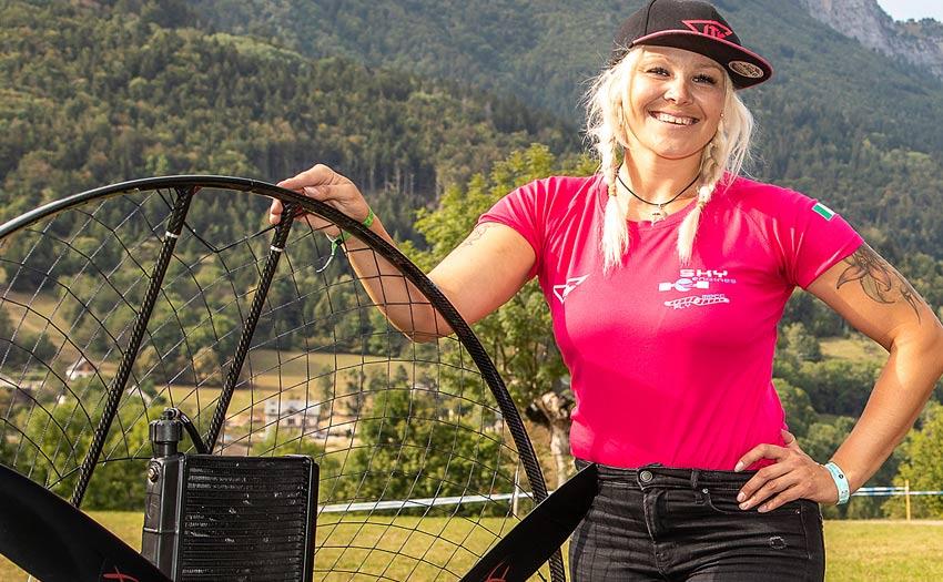 Helina Nieminen Finnish Paragliding Girl