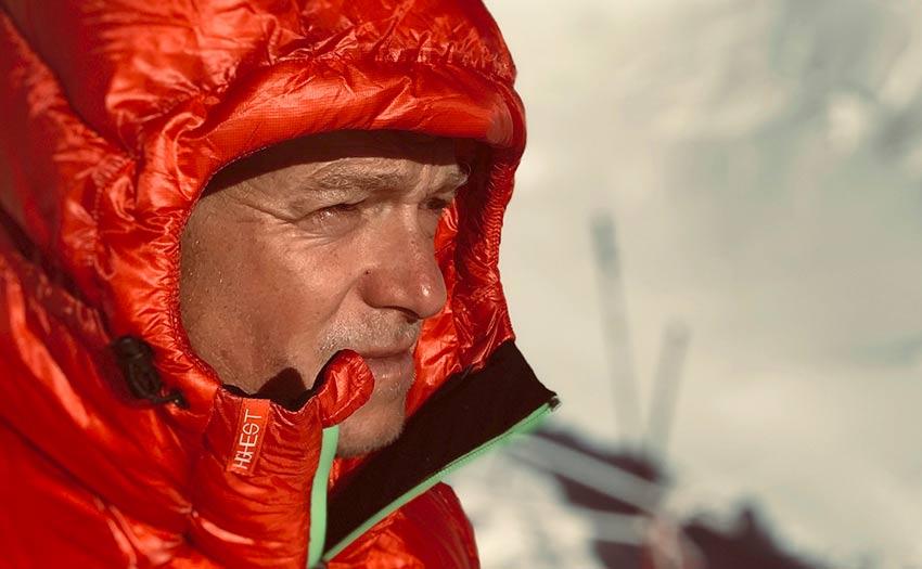 Max Berger K2 paraglider pilot