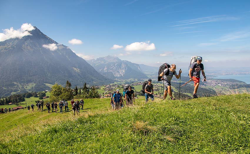Hike and fly in Interlaken. Photo: Marcus King