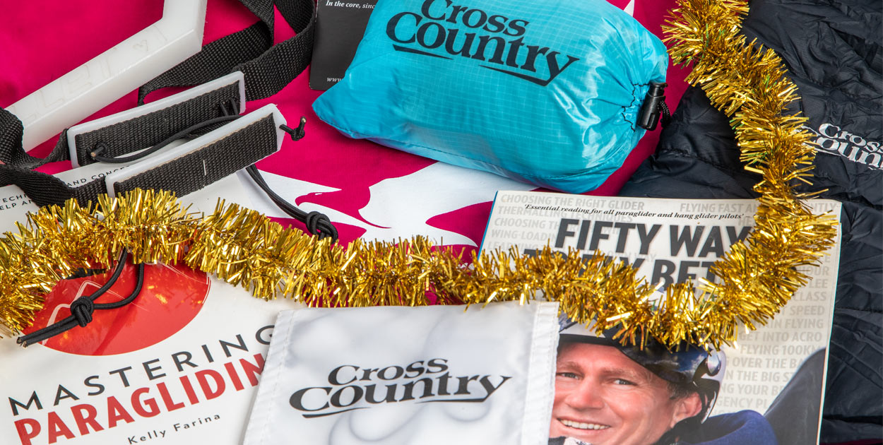 Christmas gifts for paraglider pilots