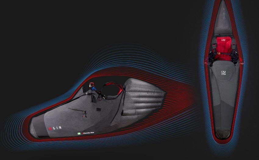 Gin Genie Lite 3 aerodynamics