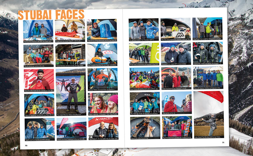 Faces from the Stubai Cup 2020