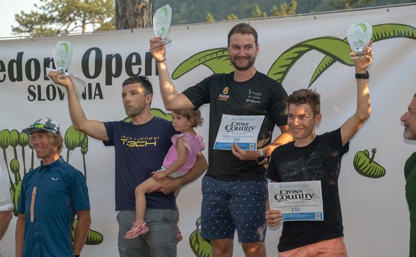Overall podium