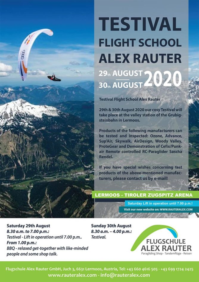Alex Rauter Flight School Testival