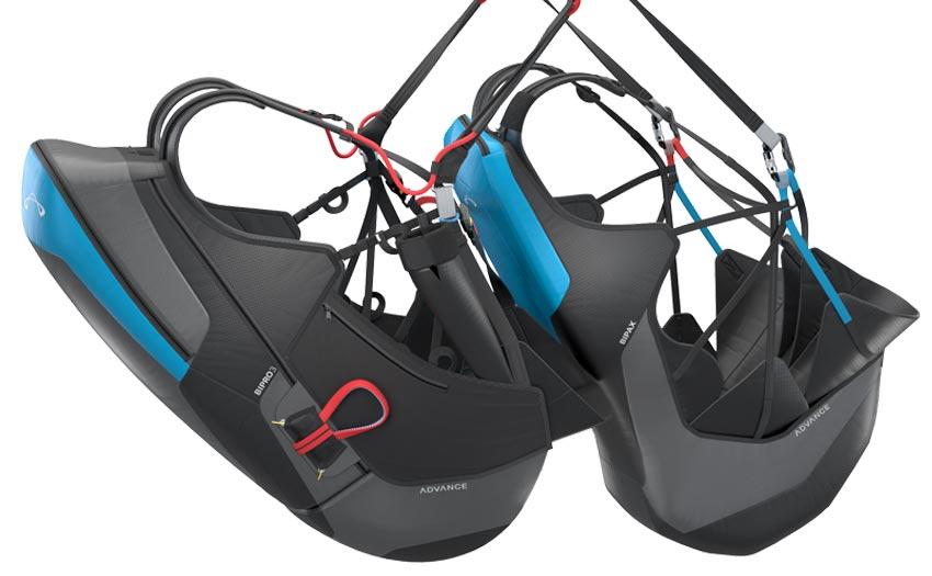 Advance tandem harnesses