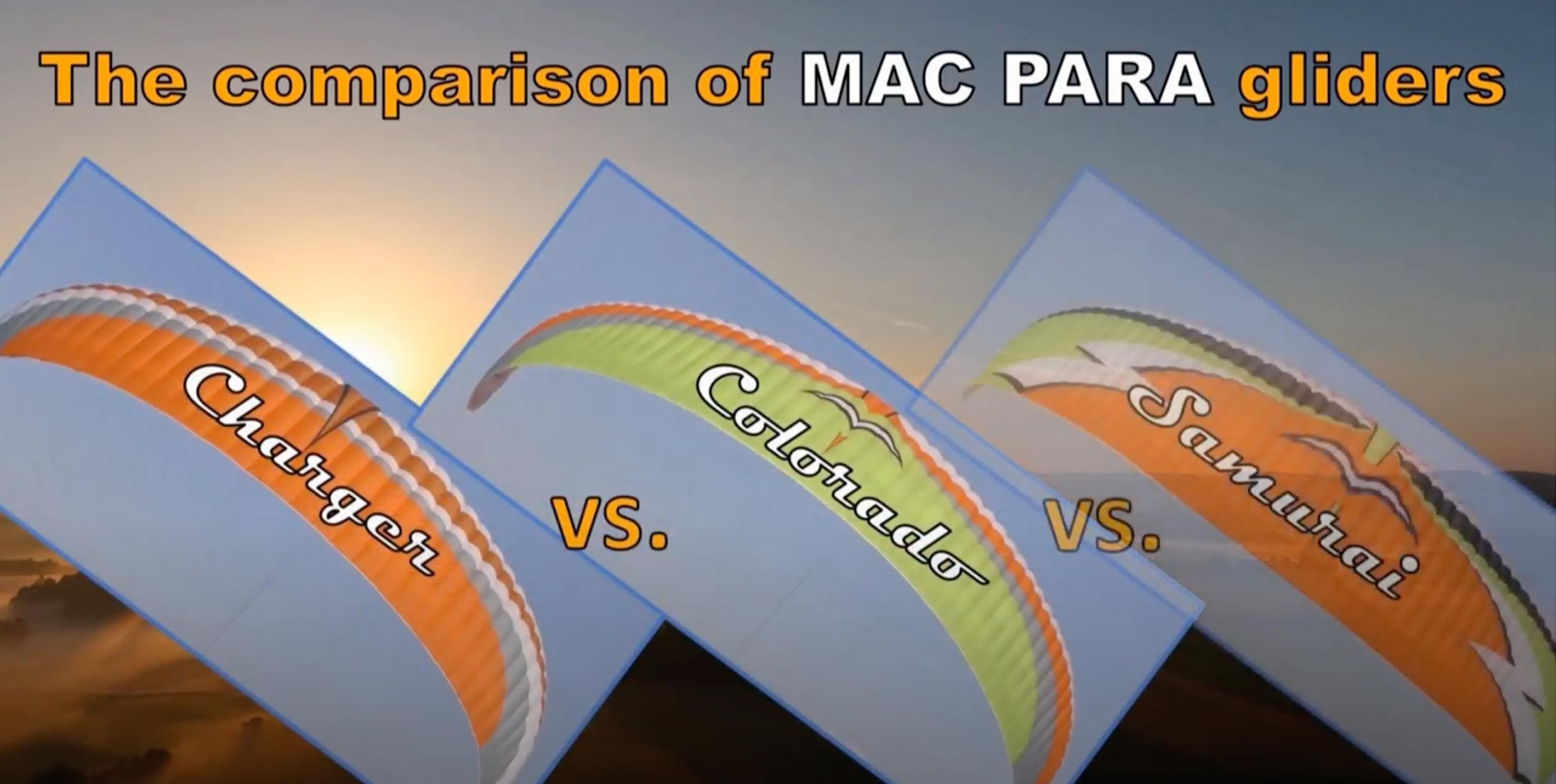Mac Para PPG wings comparison video