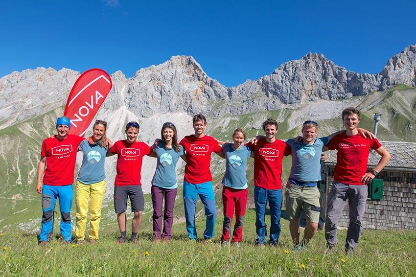 Nova Climb and Fly Team
