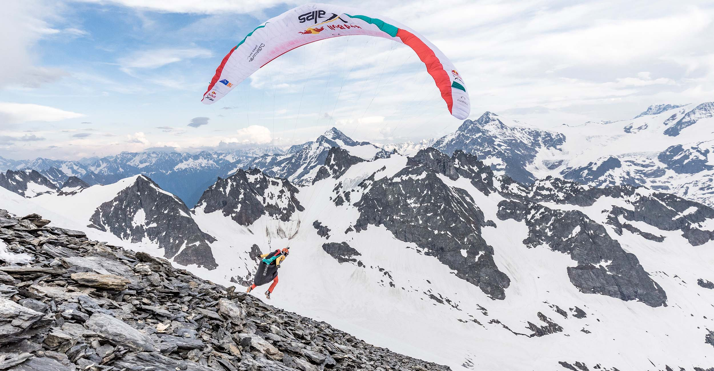 Red Bull X-Alps 2021. Photo: Harald Tauderer/Red Bull Content Pool