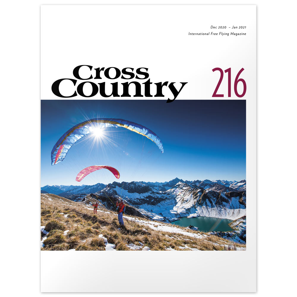 Hike-and-fly in Austria. Cover photo: Adi Geisegger