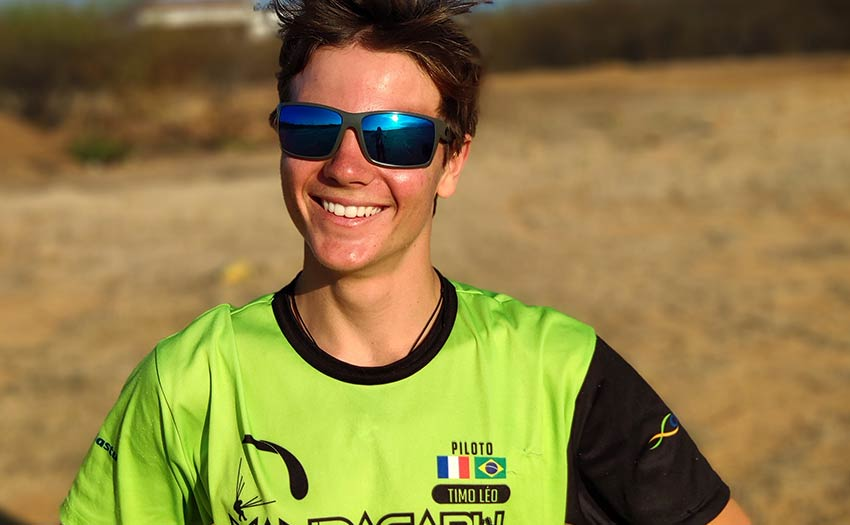 Timo Leonetti, cross country paraglider pilot