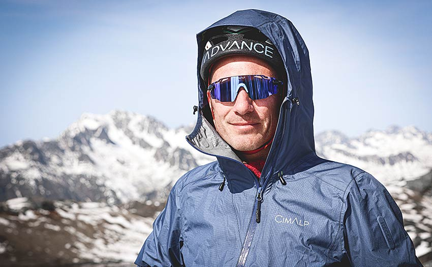 Paraglider pilot and mountain guide Fred Souchon