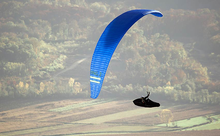 How to choose an advanced paraglider. Photo: Triple Seven