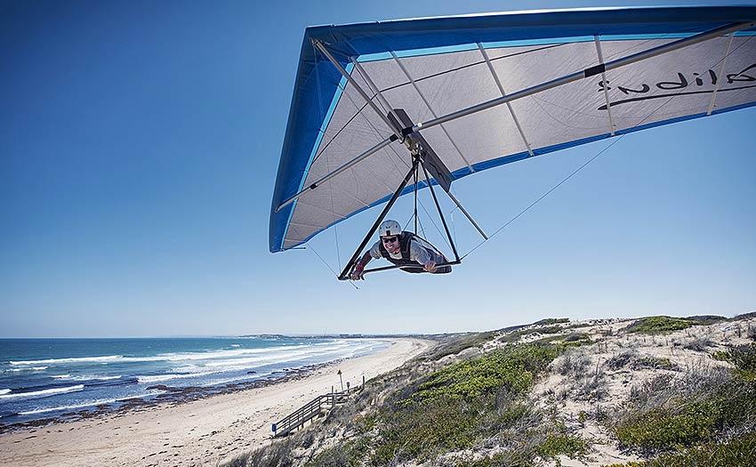 How to get into hang gliding. Photo: Sasha Serebrenikova
