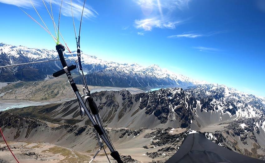 Mt Cook from Burnett, New Zealand