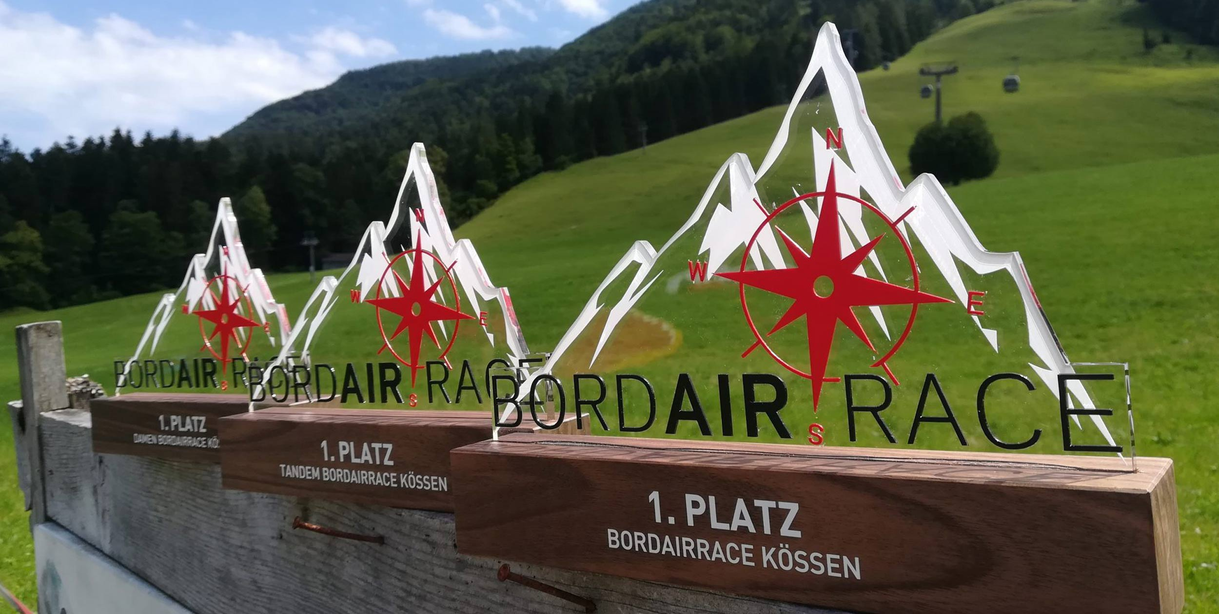 Bordairrace trophies