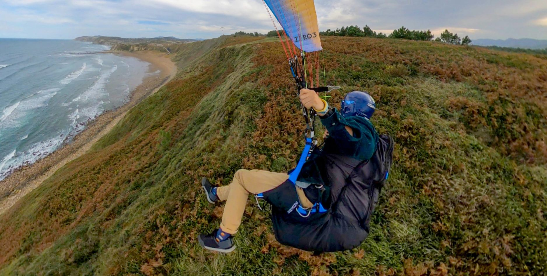 Ozone Switch paraglider harness