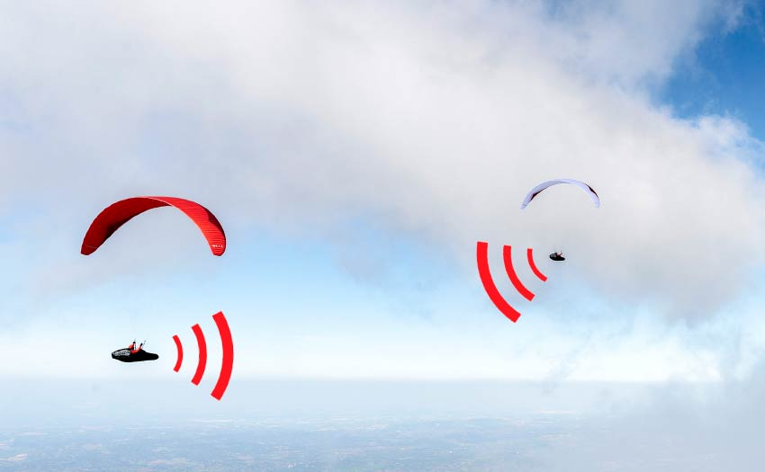 Understanding electronic conspicuity for paragliders