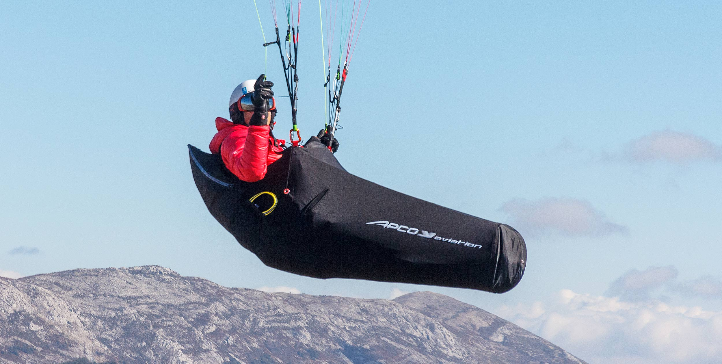 Apco Kitto Paraglider harness review