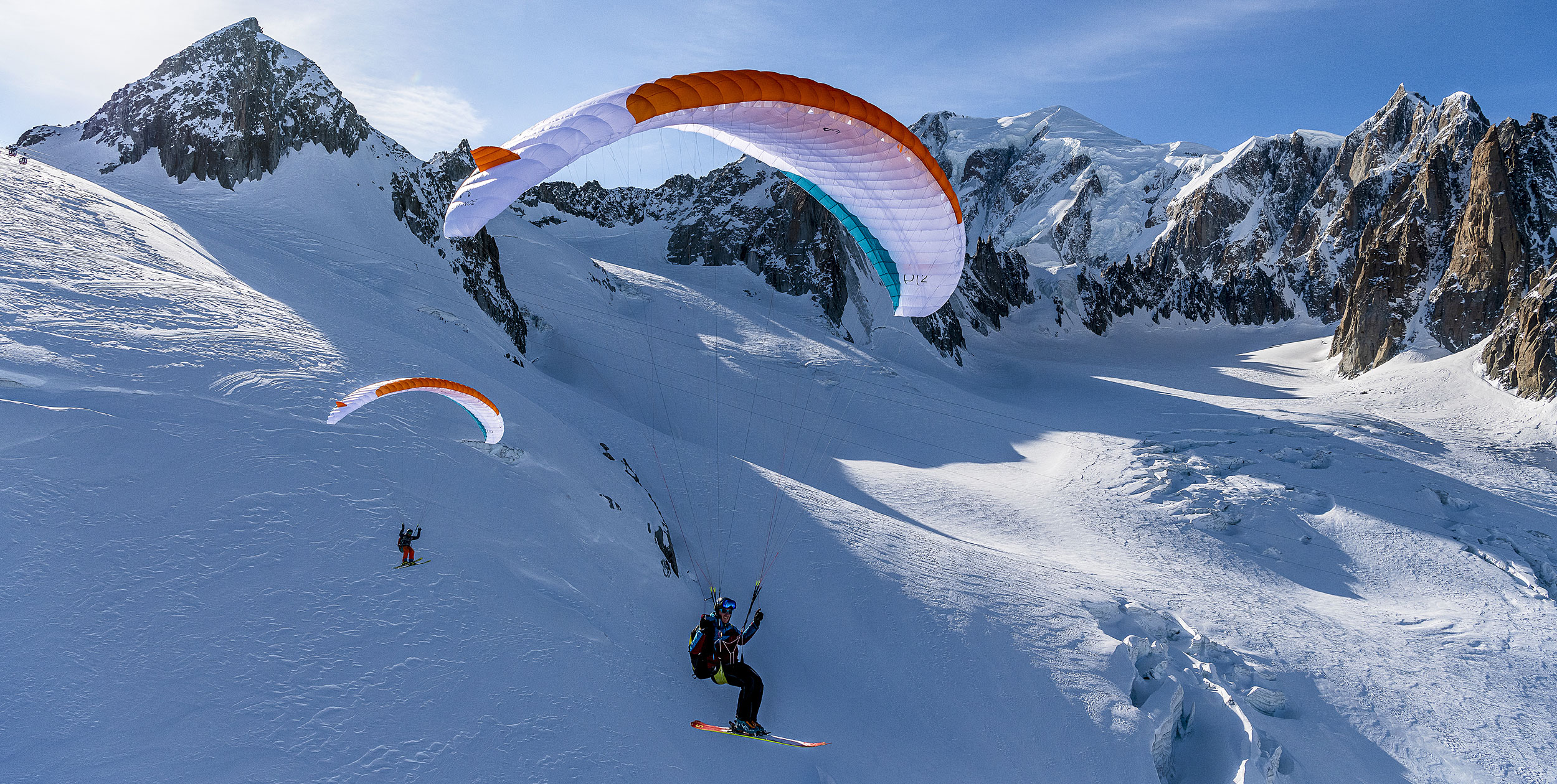 Mont Blanc Ski and Fly Tour
