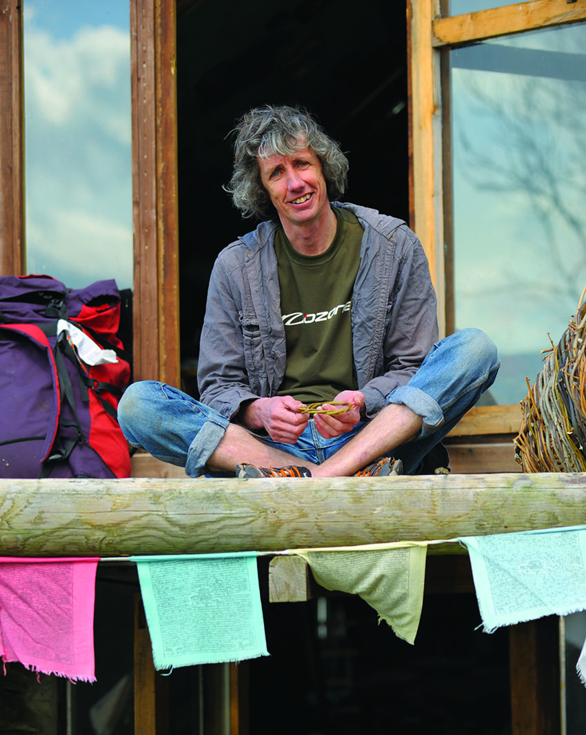 John Silvester at home in Wales in 2008. Photo: Ray Wood