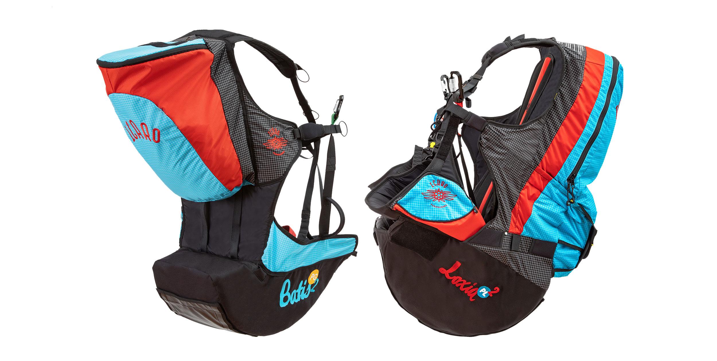 Icaro Loxia2 and Batis2 harnesses